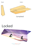 Paper Airplane Instructions – Locked
