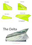 Paper Airplane Instructions – Arrow