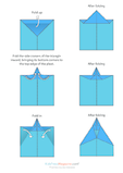 Paper Airplane Instructions – The Delta