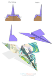 Paper Airplane Instructions – Saturn