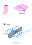 Paper Airplane Instructions –Silke