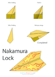 Paper Airplane Instructions – Nakamura Lock