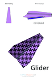 Paper Airplane Instructions – Glider