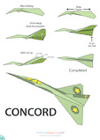 Paper Airplane Instructions – Concord
