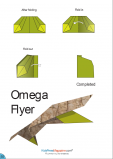 Paper Airplane Instructions – Omega Flyer