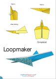 Paper Airplane Instructions – Loopmaker