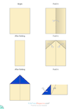 Paper Airplane Instructions – Glider Supreme