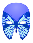 Craft Masks – Blue Butterfly