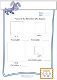 measure perimeter worksheet square 4. Black Bedroom Furniture Sets. Home Design Ideas