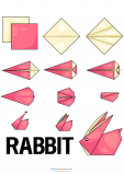 Easy Origami – Rabbit