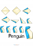 Easy Origami – Penguin