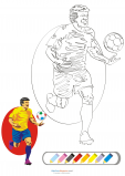 Coloring Match – Soccer Star