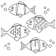 Coloring Page – Fish