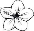 Coloring Page – Flower