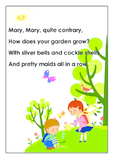 Mary, Mary, Quite Contrary Nursery Rhyme
