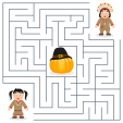 Thanksgiving Activity Maze