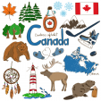 Canada Culture Map Printable