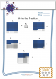 Write the Fractions