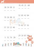Orange Puppy Ordering Worksheet