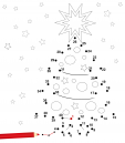 Dot to Dot – Christmas Tree