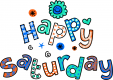 Happy Saturday Printable