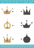 Match the Items - Crowns