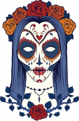 Sugar Skull Advanced Coloring 23