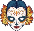 Sugar Skull Advanced Coloring 24