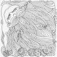 Advanced Christmas Coloring Page 19