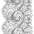 Flower Doodle Coloring Page