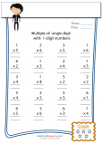 Single Digit Multiplication – Day Twelve