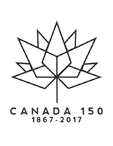 Celebrate Canada 150 with New Logo Template and Coloring Page for DIY Kids