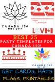 Large Maple Leaf Printable Stencil Template for DIY