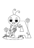Alphabet Coloring Pages Bundle