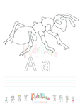 Capital and Small Letter Alphabet Handwriting Practice Bundle Vol. 1