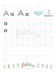 Small Letter Alphabet Handwriting Practice Bundle Vol 1.