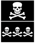Famous Pirates And Their Flags - Part 1