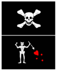 Famous Pirates And Their Flags - Part 3