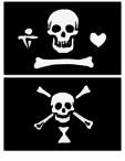 Famous Pirates And Their Flags - Part 4