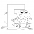Alphabet Coloring Pages – F