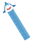 Bookmark Ruler – Shark