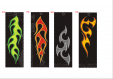 Flame Bookmarks #4