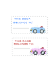 Bookplates for Kids #3