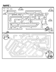 Medium Maze Brain Teaser #2