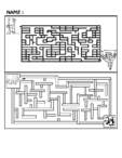Medium Maze Brain Teaser #1