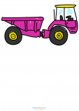 Learn To Draw – Farm Tractor with Storage Bin Attachment