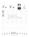 Handwriting Worksheet Letter X