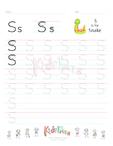 Handwriting Worksheet Letter S
