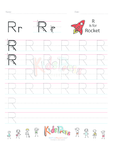 Handwriting Worksheet Letter R