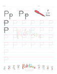 Handwriting Worksheet Letter P